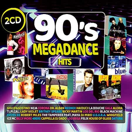 90s Megadance Hits [2CD] (2018) MP3