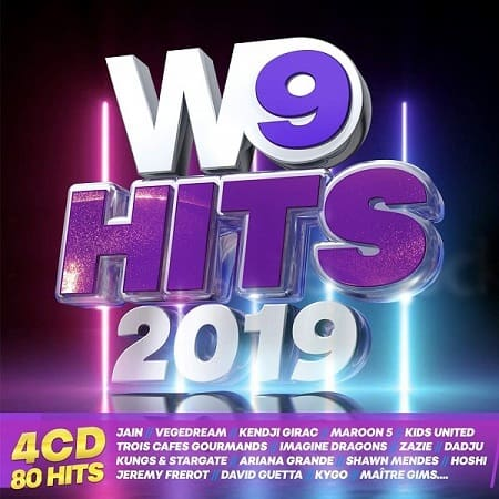 W9 Hits 2019 [4CD] (2018) MP3