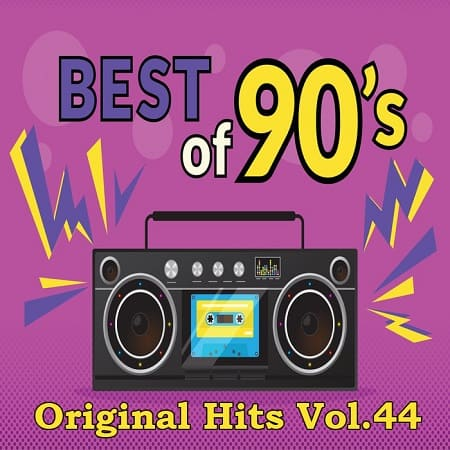 Best Of 90`s Original Hits Vol.44 (2018) MP3