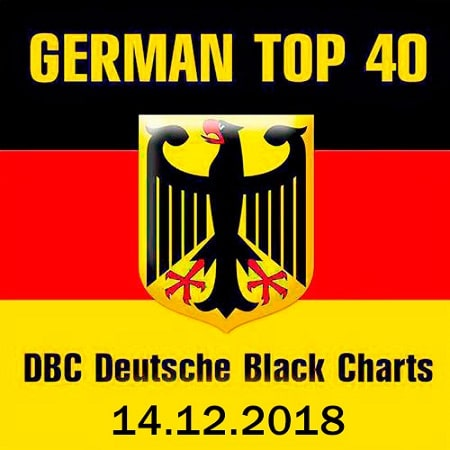 German Top 40 DBC Deutsche Black Charts 14.12.2018 (2018) MP3