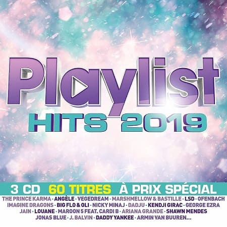 Playlist Hits 2019 [3CD] (2019) MP3