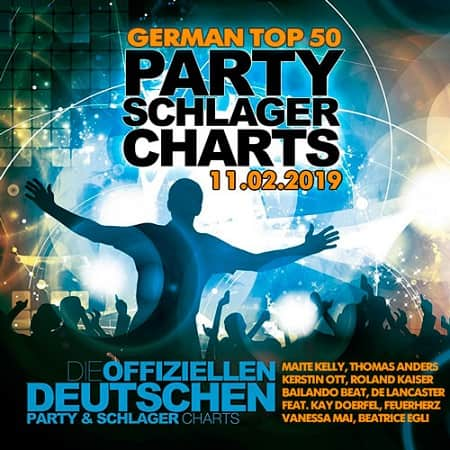 German Top 50 Party Schlager Charts 11.02.2019 (2019) MP3