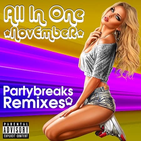 Partybreaks and Remixes - All In One November 001 (2019) MP3