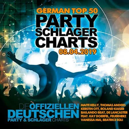 German Top 50 Party Schlager Charts 08.04.2019 (2019) MP3