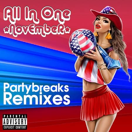Partybreaks and Remixes - All In One November 002 (2019) MP3