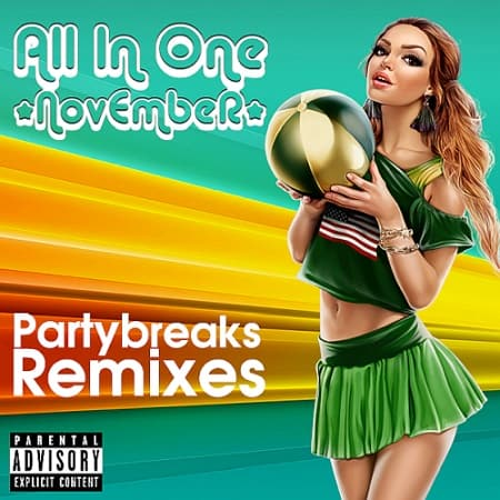 Partybreaks and Remixes - All In One November 003 (2019) MP3
