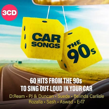 Car Songs: The 90s [3CD] (2019) MP3