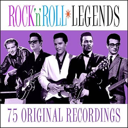 Rock n Roll Legends - 75 Original Recordings (2019) MP3