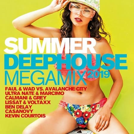 Summer Deephouse Megamix 2019 [2CD] (2019) MP3