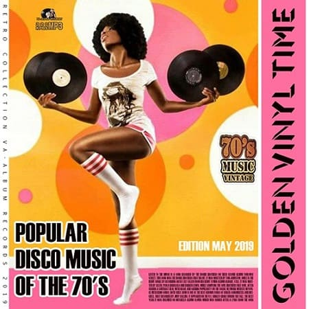Golden Vinil Time: Popular Disco Music Of The 70s (2019) MP3