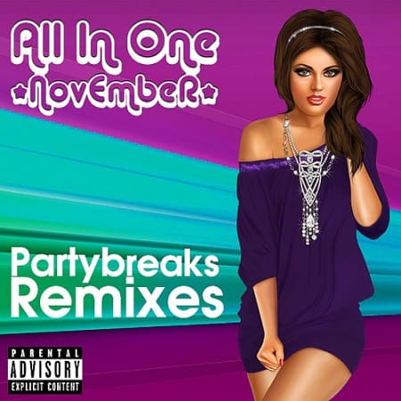 Partybreaks and Remixes - All In One November 008 (2019) MP3