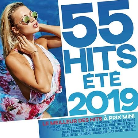 55 Hits Été 2019 [3CD] (2019) MP3