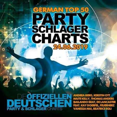 German Top 50 Party Schlager Charts 24.06.2019 (2019) MP3