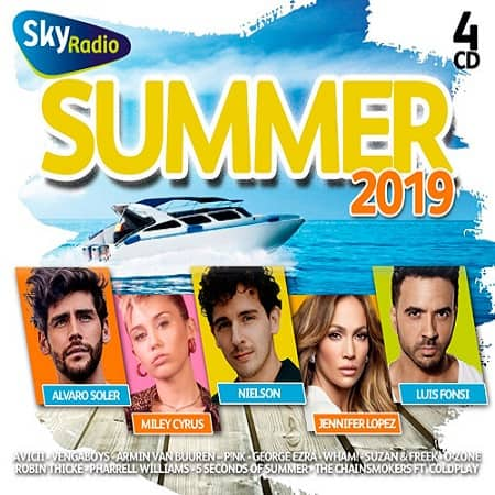 Sky Radio Summer 2019 [4CD] (2019) MP3