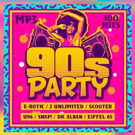 90s Party 100 Hits (2019) MP3