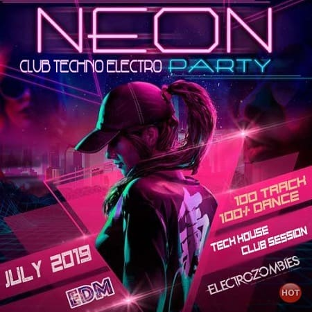 Neon Electro Techno Party (2019) MP3