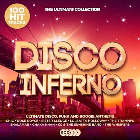 Disco Inferno: Ultimate Disco Anthems [5CD] (2019) MP3