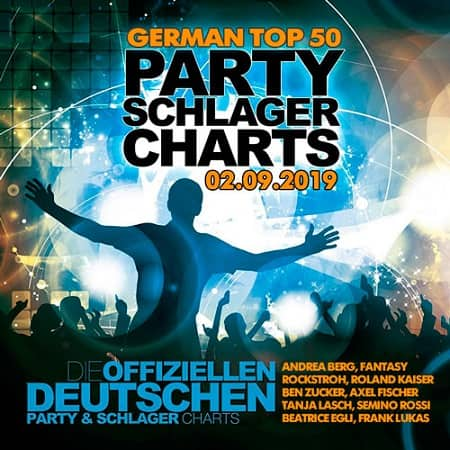 German Top 50 Party Schlager Charts 02.09.2019 (2019) MP3