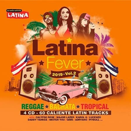 Latina Fever 2019 Vol.2 [4CD] (2019) MP3