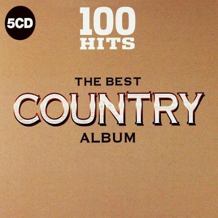 100 Hits The Best Country Album [5CD] (2018) MP3