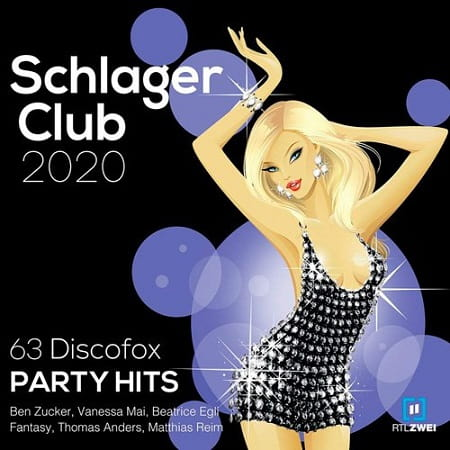 Schlager Club 2020 [63 Discofox Party Hits] (2019) MP3