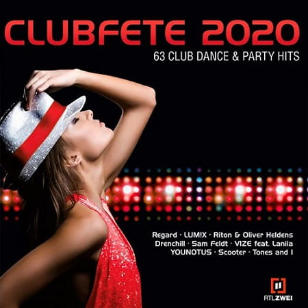 Clubfete 2020: 63 Club Dance & Party Hits [3CD] (2019) MP3