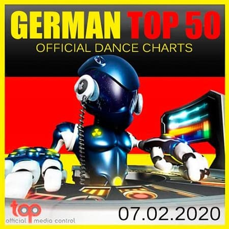 German Top 50 Official Dance Charts 07.02.2020 (2020) MP3