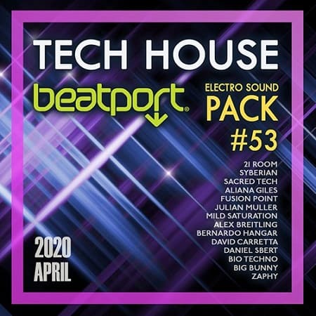 Beatport Tech House: Electro Sound Pack #53 (2020) MP3