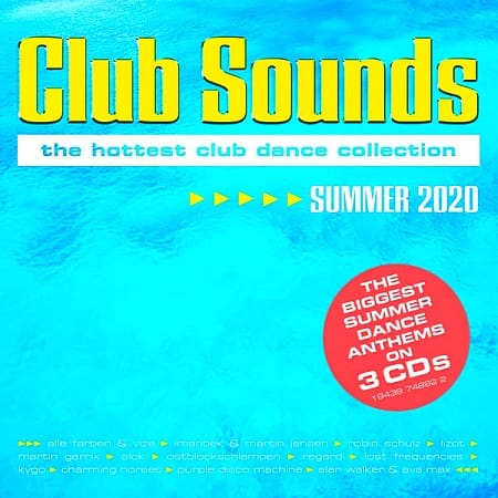 Club Sounds Summer 2020 [3CD] (2020) MP3