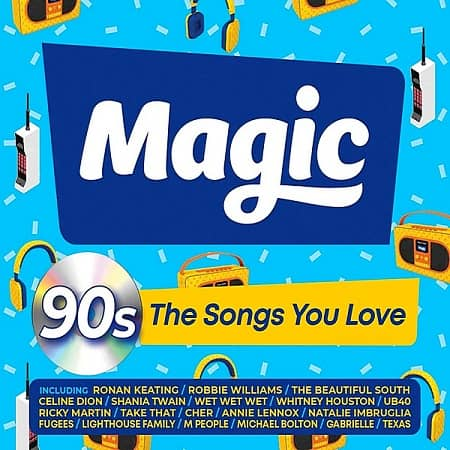 Magic 90's: The Songs You Love [3CD] (2020) MP3