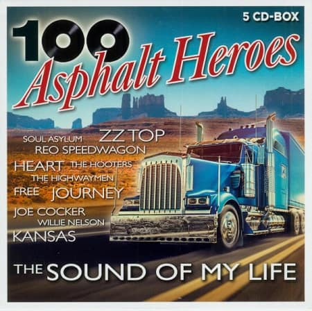 100 Asphalt Heroes - The Sound Of My Life [5CD] (2020) MP3