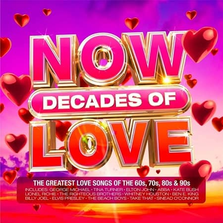 NOW Decades Of Love [4CD] (2021) MP3