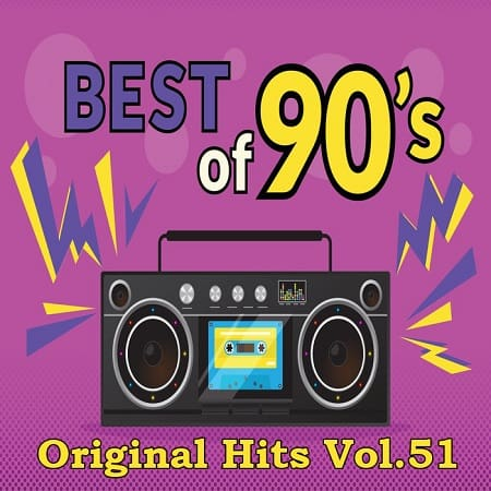 Best Of 90`s Original Hits Vol.51 (2021) MP3